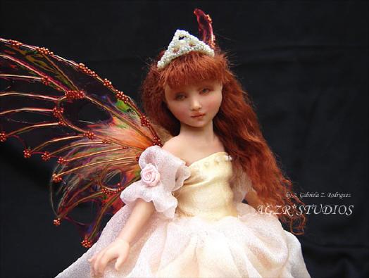 Handmade fantasy fairy fae
