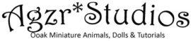 AGZR STUDIOS Miniature Animals & Dolls